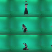 Go-go-Dancer-Assassin-g2 Green Screen Stock