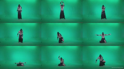Go-go-Dancer-Assassin-g2 Green Screen Stock