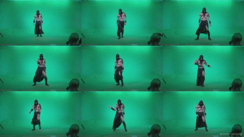 Go-go-Dancer-Assassin-g3 Green Screen Stock