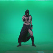 Go-go-Dancer-Assassin-g3_004 Green Screen Stock