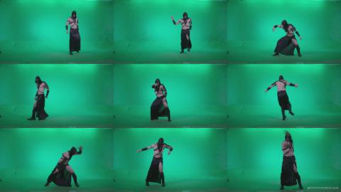 Go-go-Dancer-Assassin-g4 Green Screen Stock