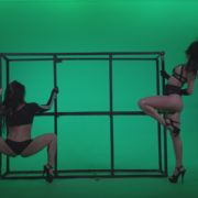 Go-go-Dancer-Black-Magic-y10-Green-Screen-Video-Footage_006 Green Screen Stock