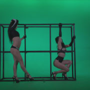 Go-go-Dancer-Black-Magic-y11-Green-Screen-Video-Footage_001 Green Screen Stock