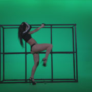 Go-go-Dancer-Black-Magic-y12-Green-Screen-Video-Footage_007 Green Screen Stock