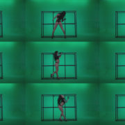 Go-go-Dancer-Black-Magic-y13-Green-Screen-Video-Footage Green Screen Stock