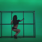 Go-go-Dancer-Black-Magic-y13-Green-Screen-Video-Footage_001 Green Screen Stock