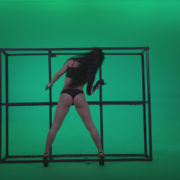 Go-go-Dancer-Black-Magic-y13-Green-Screen-Video-Footage_002 Green Screen Stock