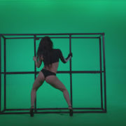 vj video background Go-go-Dancer-Black-Magic-y13-Green-Screen-Video-Footage_003