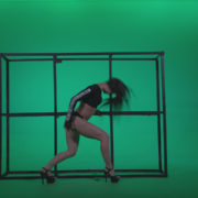 Go-go-Dancer-Black-Magic-y13-Green-Screen-Video-Footage_004 Green Screen Stock