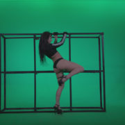 Go-go-Dancer-Black-Magic-y13-Green-Screen-Video-Footage_006 Green Screen Stock