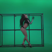 Go-go-Dancer-Black-Magic-y13-Green-Screen-Video-Footage_008 Green Screen Stock