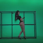 Go-go-Dancer-Black-Magic-y13-Green-Screen-Video-Footage_009 Green Screen Stock