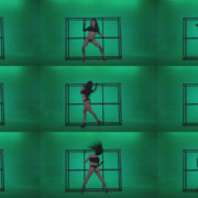 Go-go-Dancer-Black-Magic-y14-Green-Screen-Video-Footage Green Screen Stock