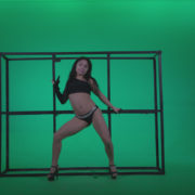 Go-go-Dancer-Black-Magic-y14-Green-Screen-Video-Footage_001 Green Screen Stock