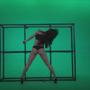 Go-go-Dancer-Black-Magic-y14-Green-Screen-Video-Footage_007 Green Screen Stock