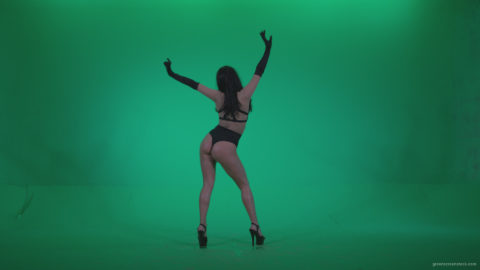 vj video background Go-go-Dancer-Black-Magic-y5-Green-Screen-Video-Footage_003