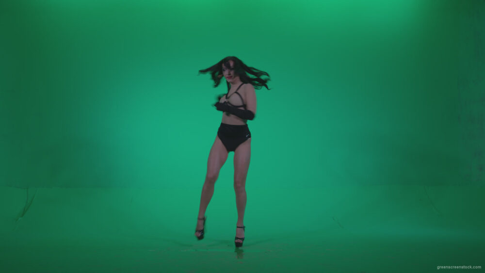 vj video background Go-go-Dancer-Black-Magic-y6-Green-Screen-Video-Footage_003