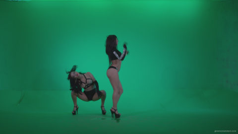 vj video background Go-go-Dancer-Black-Magic-y8-Green-Screen-Video-Footage_003