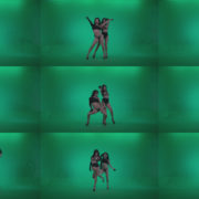 Go-go-Dancer-Black-Magic-y9-Green-Screen-Video-Footage Green Screen Stock
