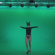 Go-go-Dancer-Black-Rabbit-u12-Green-Screen-Video-Footage_004 Green Screen Stock