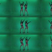 Go-go-Dancer-Black-Rabbit-u4-Green-Screen-Video-Footage Green Screen Stock