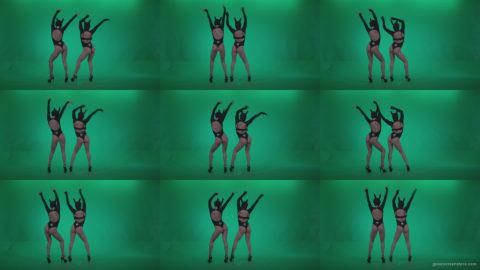 Go-go-Dancer-Black-Rabbit-u4-Green-Screen-Video-Footage Green Screen Stock