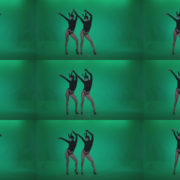 Go-go-Dancer-Black-Rabbit-u5-Green-Screen-Video-Footage Green Screen Stock