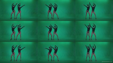 Go-go-Dancer-Black-Rabbit-u5-Green-Screen-Video-Footage Green Screen Stock