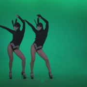 Go-go-Dancer-Black-Rabbit-u5-Green-Screen-Video-Footage_008 Green Screen Stock