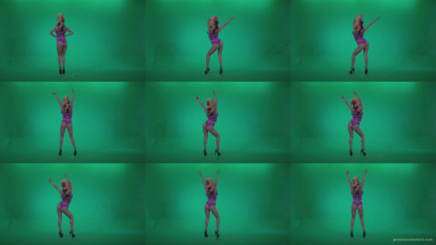 Go-go-Dancer-Carnaval-v10-Green-Screen-Video-Footage Green Screen Stock
