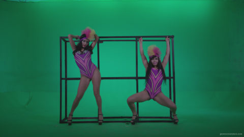 vj video background Go-go-Dancer-Carnaval-v3-Green-Screen-Video-Footage_003