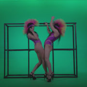 Go-go-Dancer-Carnaval-v4-Green-Screen-Video-Footage_007 Green Screen Stock