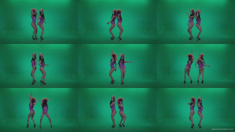Go-go-Dancer-Carnaval-v5-Green-Screen-Video-Footage Green Screen Stock
