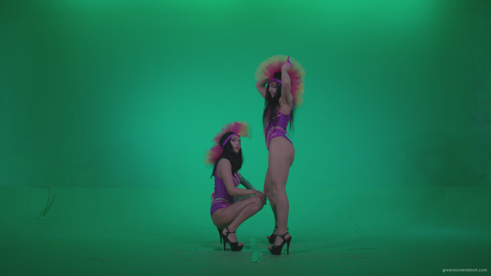 vj video background Go-go-Dancer-Carnaval-v6-Green-Screen-Video-Footage_003
