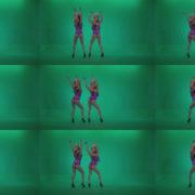 Go-go-Dancer-Carnaval-v7-Green-Screen-Video-Footage Green Screen Stock