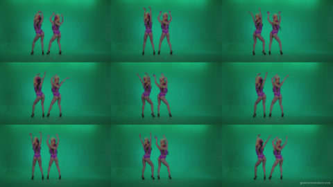 Go-go-Dancer-Carnaval-v7-Green-Screen-Video-Footage Green Screen Stock
