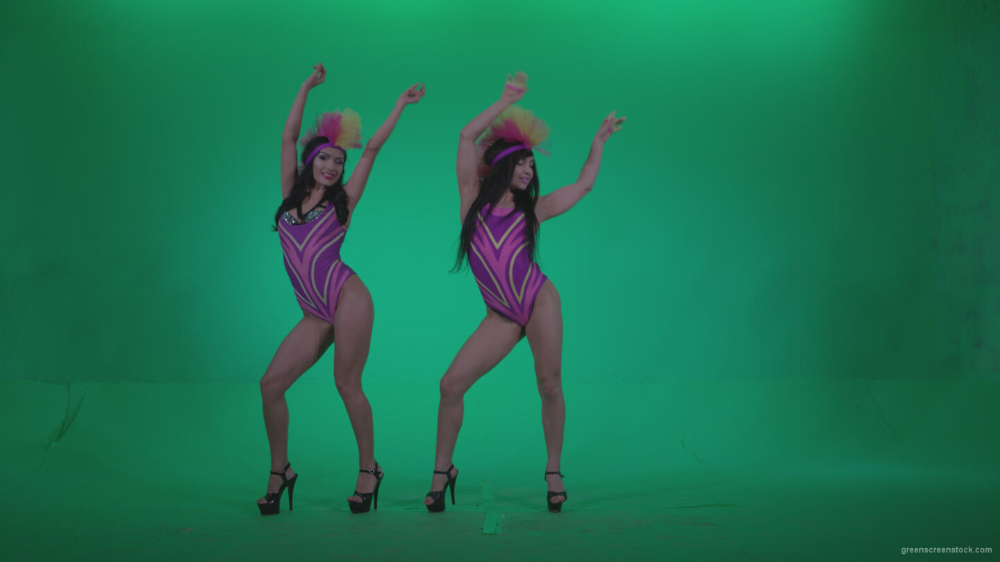 vj video background Go-go-Dancer-Carnaval-v8-Green-Screen-Video-Footage_003