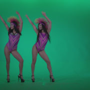 Go-go-Dancer-Carnaval-v8-Green-Screen-Video-Footage_005 Green Screen Stock