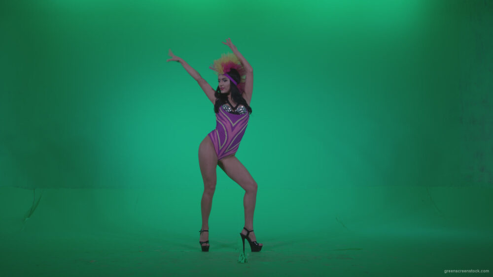 vj video background Go-go-Dancer-Carnaval-v9-Green-Screen-Video-Footage_003
