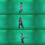 Go-go-Dancer-Detective-d3 Green Screen Stock