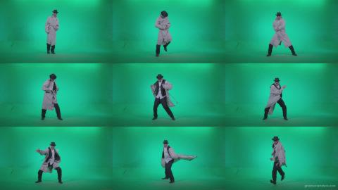 Go-go-Dancer-Detective-d3 Green Screen Stock
