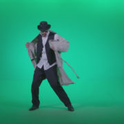 Go-go-Dancer-Detective-d3_005 Green Screen Stock