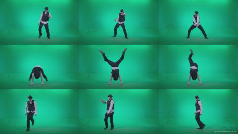 Go-go-Dancer-Detective-d4 Green Screen Stock