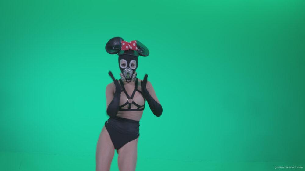 vj video background Go-go-Dancer-Latex-Mikki-x2-Green-Screen-Video-Footage_003