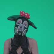 Go-go-Dancer-Latex-Mikki-x3-Green-Screen-Video-Footage_001 Green Screen Stock