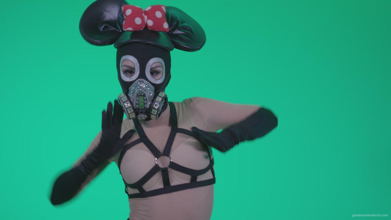 vj video background Go-go-Dancer-Latex-Mikki-x3-Green-Screen-Video-Footage_003