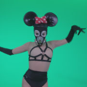 Go-go-Dancer-Latex-Mikki-x4-Green-Screen-Video-Footage_002 Green Screen Stock