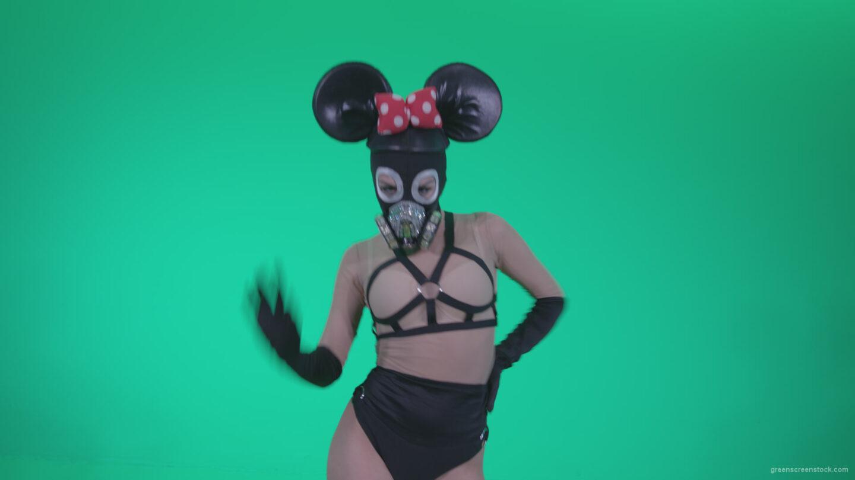 vj video background Go-go-Dancer-Latex-Mikki-x4-Green-Screen-Video-Footage_003
