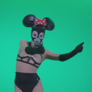 Go-go-Dancer-Latex-Mikki-x4-Green-Screen-Video-Footage_007 Green Screen Stock