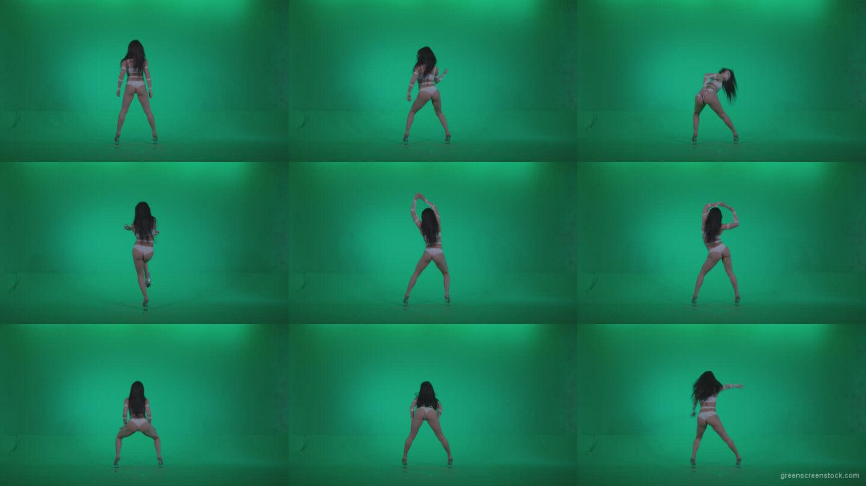 Go-go-Dancer-LiLu-e2-Green-Screen-Video-Footage Green Screen Stock
